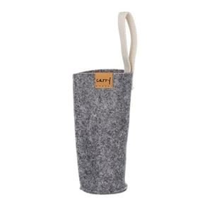 Carry Bottles Sleeve - grau 0,7 L